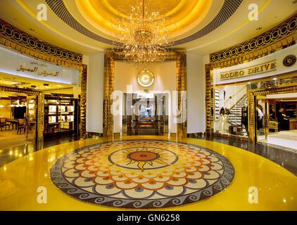 Burj al Arab hotel in Dubai, United Arab Emirates - Stock Photo