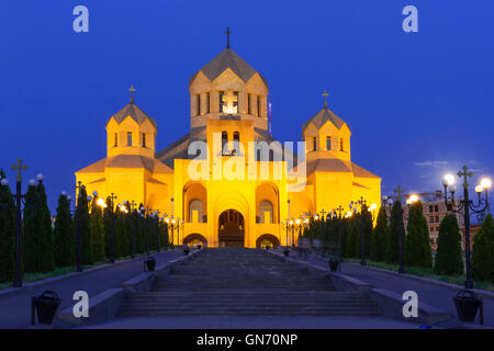 Cathedral of St Gregory the illuminator, in Yerevan, Armenia - Stock Photo