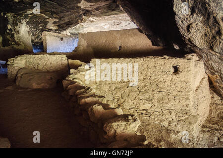 Gila Cliff Dwellings National Monument - Stock Photo
