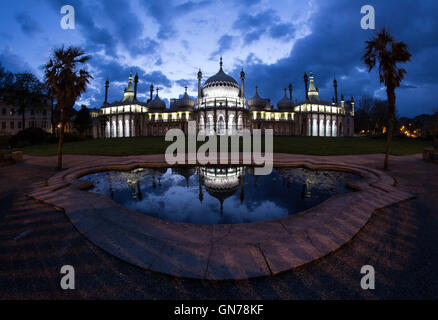 The Royal Pavilion, Brighton. - Stock Photo