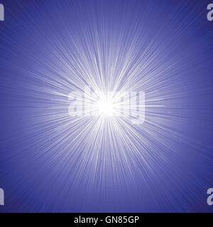 Radial Speed Lines Graphic Effects Background Blue 01 - Stock Photo