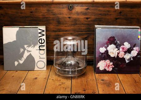 New Order LP records - Stock Photo
