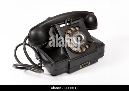 Old phone with dust and scratches - Stock Photo