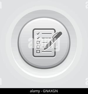 Check List Icon. Business Concept - Stock Photo