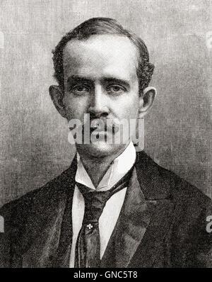 Hugh Richard Heathcote Gascoyne-Cecil, 1st Baron Quickswood, 1869 – 1956, aka Lord Hugh Cecil.  British Conservative - Stock Photo