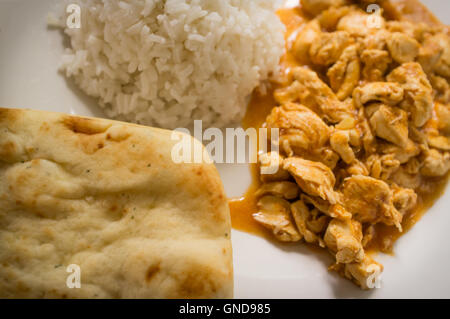 Authentic indian chicken tikka masala garnished with bell for Authentic indian cuisine