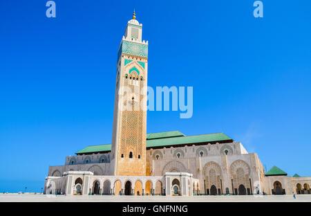The Hassan II Mosque in Casablanca, Morocco