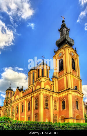 Serbian Orthodox Cathedral in Sarajevo - Bosnia and Herzegovina - Stock Photo