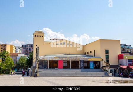 The National Theater of Kosovo in Pristina - Stock Photo
