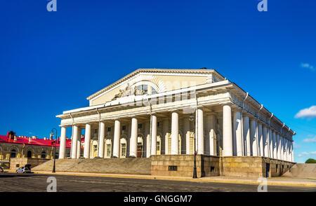 Old Saint Petersburg Stock Exchange building - Russia - Stock Photo
