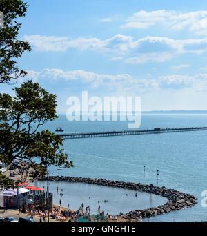 The new Lagoon at Three Shells Beach Southend on Sea. - Stock Photo