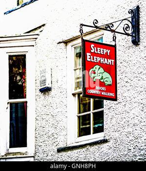 Sedbergh, Cumbria, Main Street - Stock Photo