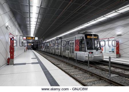 Düsseldorf, Stadtbahn, Wehrhahn-Linie - Stock Photo