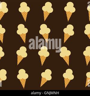 ice cream cone theme - Stock Photo