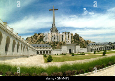Valley of the Fallen in Madrid - Stock Photo