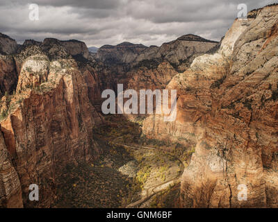 Red mountains in Utah's Zion National Park