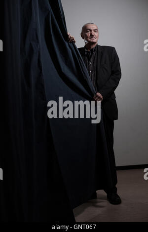 Berlin, Germany, Wolfgang Engler, publicist and Rectors - Stock Photo
