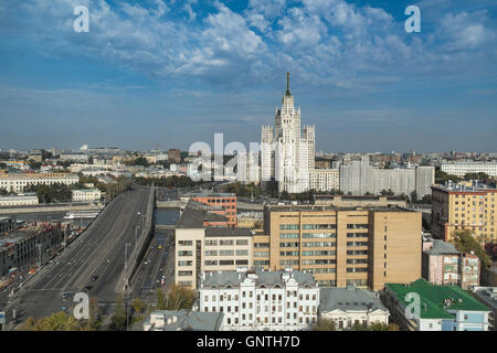 Stalin Skyscraper is one of Seven sister buildings of the Stalin Era in Moscow - Russia