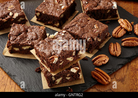 Cinnamon pecan cookies - Stock Photo