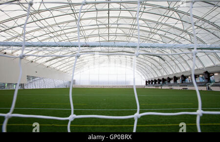 Oriam Sport and Performance Centre 4G Football and Rugby Pitch - Stock Photo