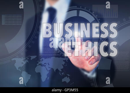 business ethics concept - Stock Photo