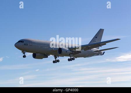 Japan Air Self Defense Force Boeing KC-767J tanker-transport aircraft 97-3603 - Stock Photo
