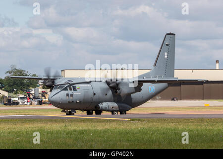 Lithuanian Air Force (Lietuvos karines oro pajegos) Alenia C-27J Spartan military cargo aircraft - Stock Photo