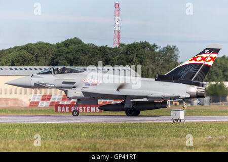Royal Air Force (RAF) Eurofighter Typhoon - Stock Photo