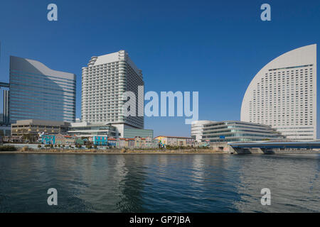 Building with amusement parks, tokyo, japan - Stock Photo