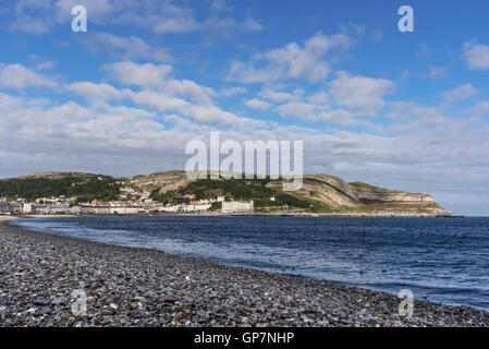 Llandudno. Clwyd North Wales. East Bay. - Stock Photo