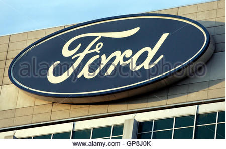 Ford Motor Company World Headquarters in Dearborn Michigan Stock Photo, Royalty Free Image ...