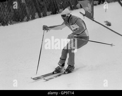 INGEMAR STENMARK Swedish alpine skier - Stock Photo