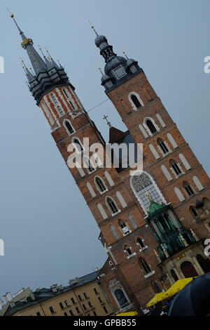 Krakow in Poland, a city for tourism and tourists – Krakau in Polen - Stock Photo
