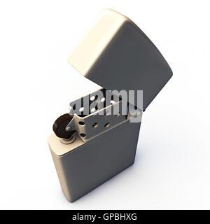 metal lighter - Stock Photo