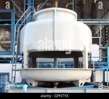 small water cooling tower - Stock Photo