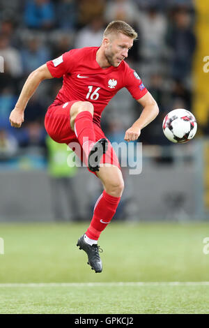 Astana, Kazakhstan. 4th September, 2016. Jakub Blaszczykowski (POL), Kazakhstan versus Poland, FIFA World Cup 2018 qualifier. The game ended in a 2-2 draw Credit:  Action Plus Sports Images/Alamy Live News