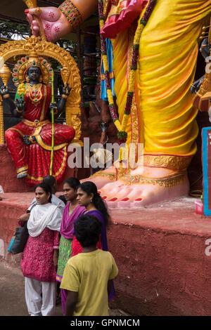 Tallest Ganesh Idol in Hyderabad - Stock Photo