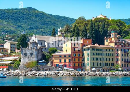 Santa Margherita Ligure. Liguria, Italy - Stock Photo