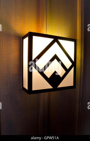 Lodge Light Fixtures - Stock Photo