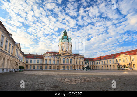 Charlottenburg palace, Berlin, Germany - Stock Photo