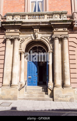 Louth town hall, by Pearson Bellamy, 1854, Eastgate, Louth, Lincolnshire, England - Stock Photo