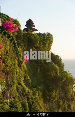Uluwatu Temple, Bali, Indonesia, Asia - Stock Photo