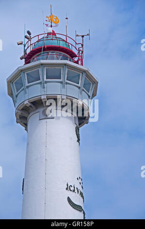 J.C.J. van Speijk Lighthouse, Egmond aan Zee, North Holland - Stock Photo