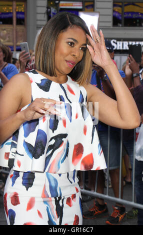 New York, USA. 5th September, 2016. Regina Hall, at Good Morning America to talk about new movie When the Bough - Stock Photo