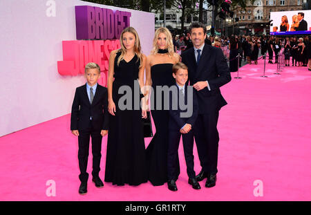 Patrick Dempsey attending the world premiere of Bridget Jones's Baby at the Odeon cinema, Leicester Square, London. - Stock Photo