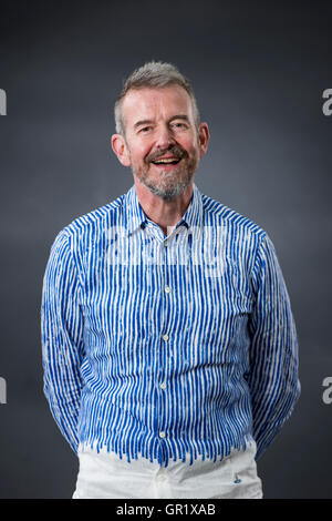 British novelist and literary critic Adam Mars-Jones. - Stock Photo