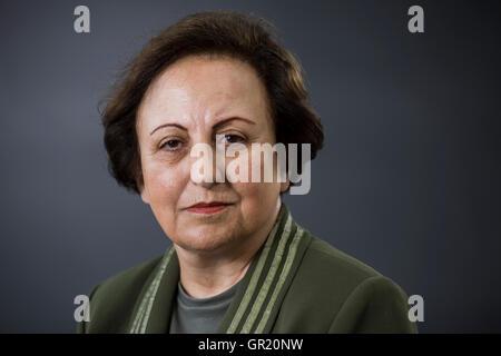 Iranian lawyer and Human Rights activist Shirin Ebadi. - Stock Photo