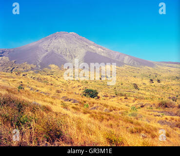Pico de Fogo. Fogo, Cape Verde Islands, Africa. - Stock Photo