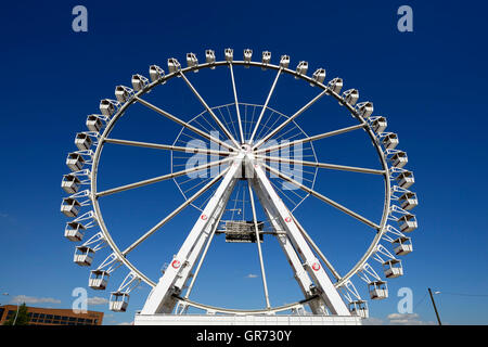 Ferris Wheel In Hamburg, Germany - Stock Photo
