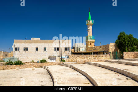 Mosque near the Crusaders Castle of Karak - Stock Photo